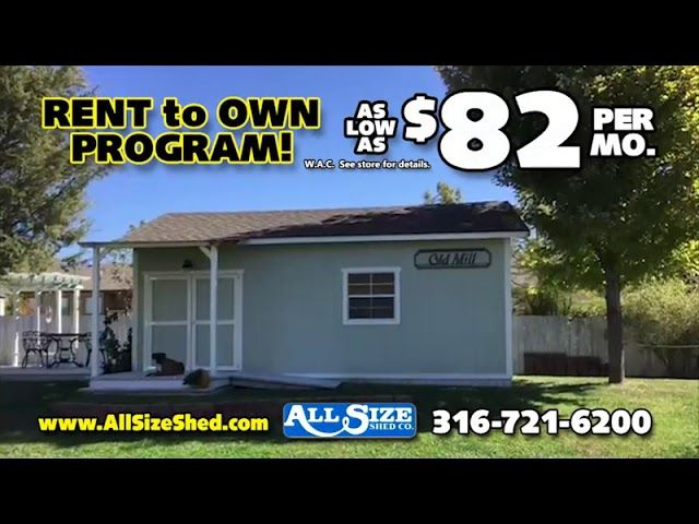 Shed Build All In One Day Shed Shed Plans Wooden Sheds