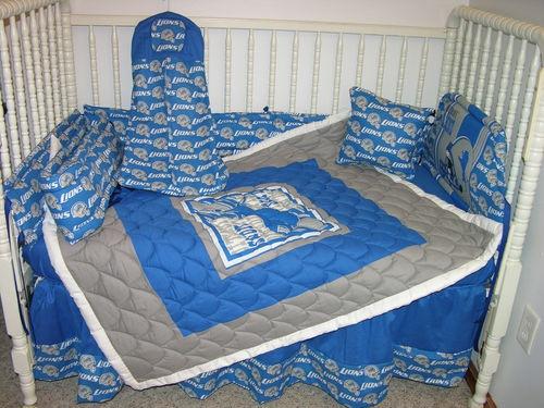 Details About Crib Nursery Bedding Set Made W Detroit