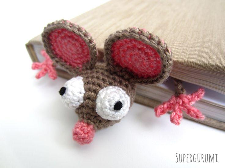 Crochet Flat Mouse