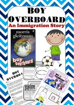 This is a 10 week planner gives chapter summaries along with a activity for students to complete. These activities are based on the book 'Boy Overboard' by Morris Gleitzman.Boy Overboard tells the story of a family immigrating to Australia from war torn Afghanistan.Cut out the suitcases and paste together to make an activity book.
