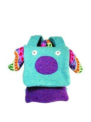 43% OFF Cate & Levi Pig Back Pack Buddies, Blue/Purple