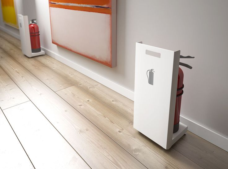 Fire-extinguisher stand - FAYA by Fernando Gil - Systemtronic