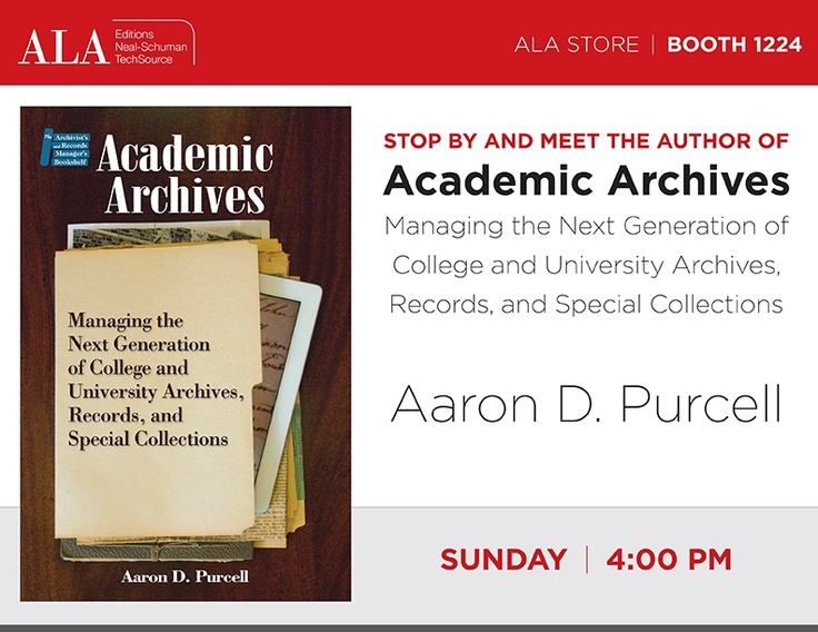 Aaron D. Purcell - Sunday, June 30 at 4:00pm.  Be sure to stop by!