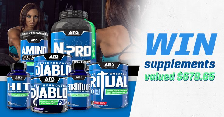 Tag your friends who love bodybuilding! WIN FREE ANS Supplements Pack valued $679.65. Winner announced when countdown hits ZERO! Click my link to enter and you get extra 20 entries FREE! Enter and BOOST your chances of winning by sharing with friends!