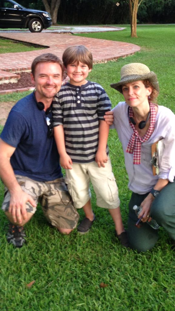 "Brody Rose with Director Leslie Hope and Jeff Rose on the set of ""Christmas on the Bayou"". http://www.mylifetime.com/movies/christmas-on-the-bayou    http://www.imdb.com/name/nm2656225/?ref_=nmmd_md_nm"