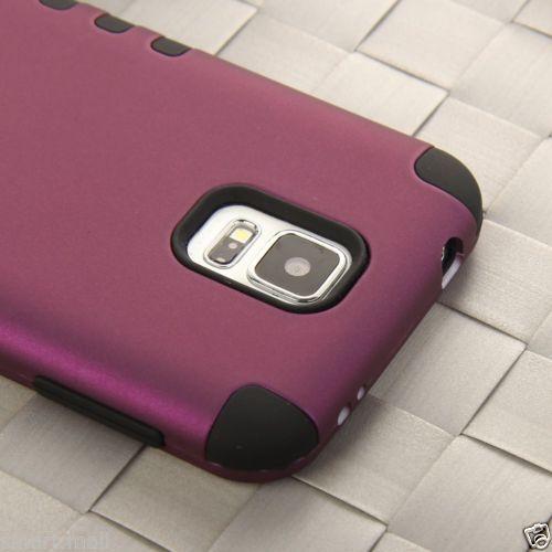 Heavy Duty Hybrid Rugged Hard Case Cove for Samsung Galaxy S5 SV I9600 Film | eBay