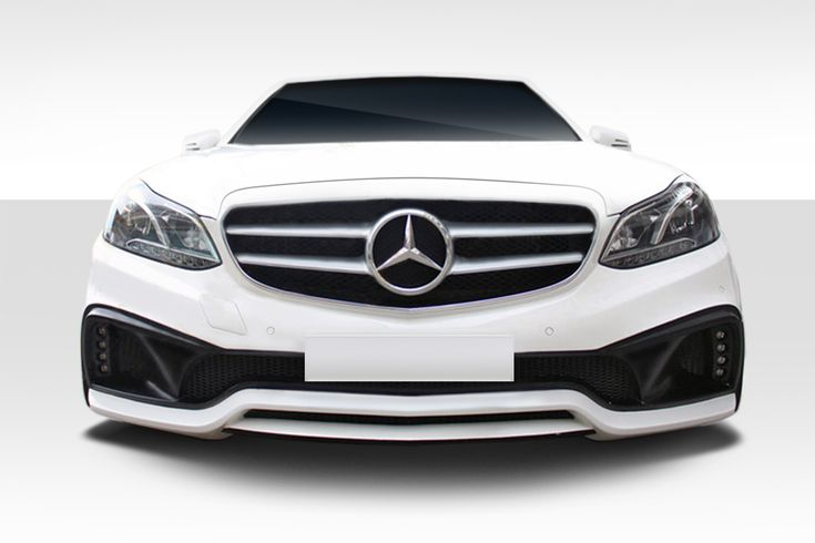 Duraflex Bumper Mercedes E350 [Front - Eros Style] (2014-2015-2016) 112803