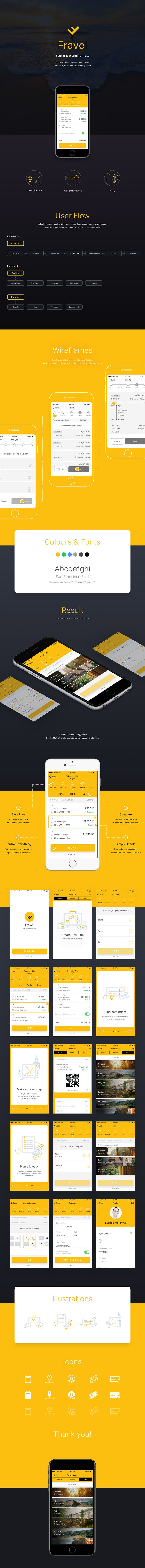 Fravel is a trip planning mobile application. It helps you to look for accommodation and tickets, find best prices and make your trip planning much easier. Application communicates with you as a friend and your personal travel manager. More human interact…