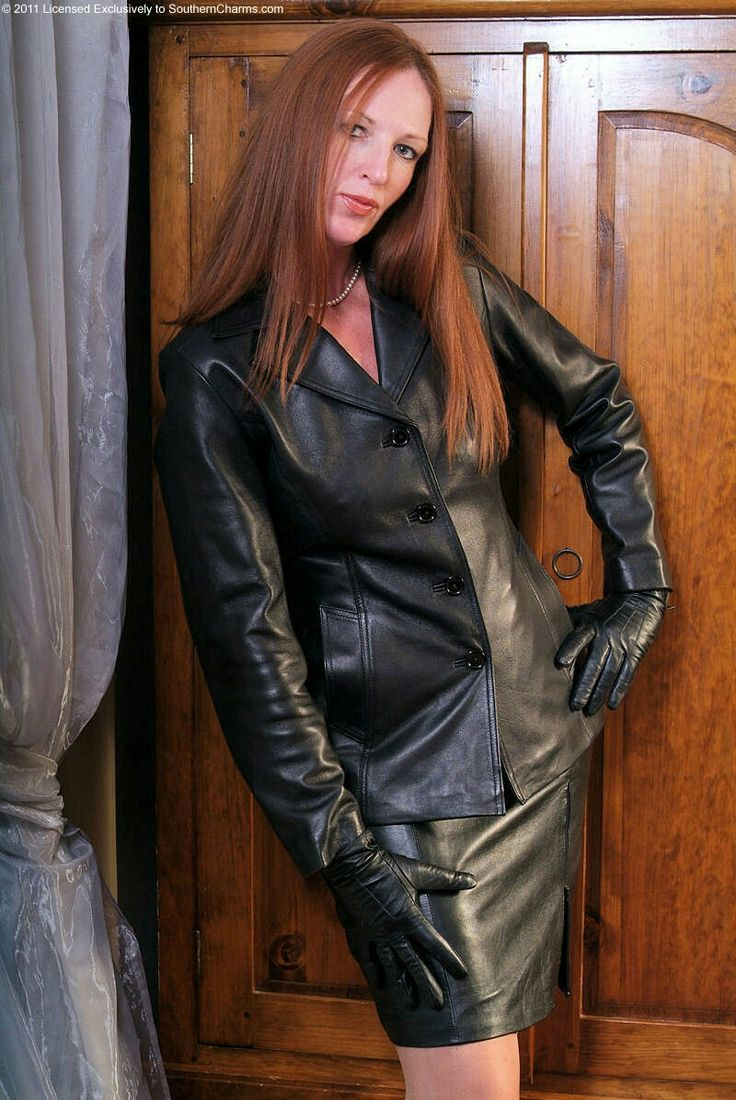 women in leather: a collection of Women's fashion ideas to ...