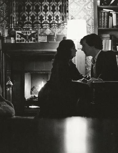 Fun Fact: (A Scandal in Belgravia) Sherlock taking Irene's pulse was not originally in the script and was improvised by Benedict Cumberbatch.
