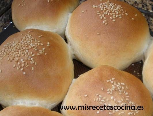 Pan de Hamburguesa Thermomix - Mis Recetas de Cocina Thermomix