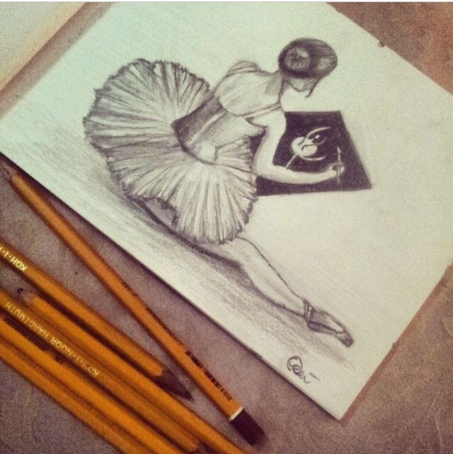 41 best Dance Drawings images on Pinterest | Dancers ...