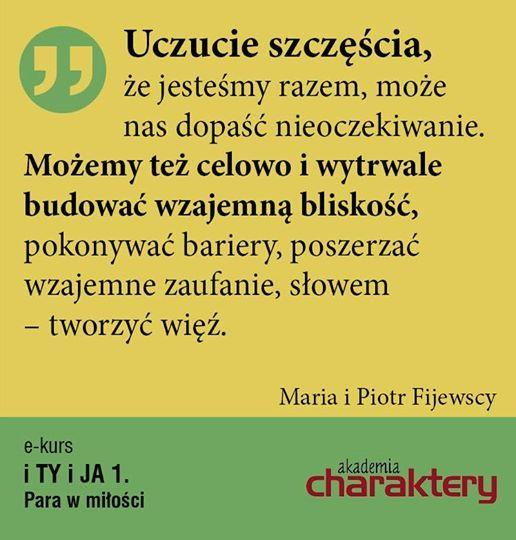 """A więcej rzetelnych rad znajdziecie w naszym e-kursie """"Para w miłości"""": http://www.akademiacharaktery.pl/courses/detail/60"""