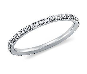 in love with skinny diamond wedding bands