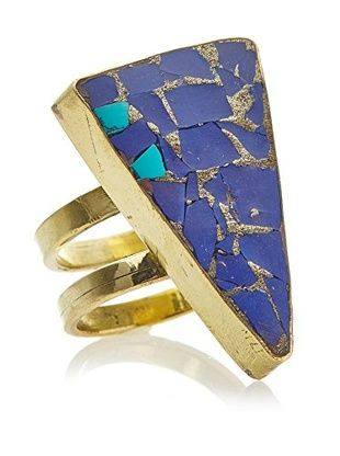 57% OFF Karen London Gypsy Lapis and Turquoise Ring