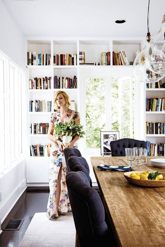 Take a tour of Beth Behrs' kitchen and dining room.