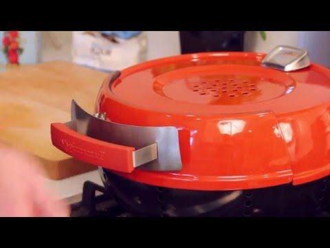 Este forno portátil permite que você asse uma pizza em 6 minutos   Casa