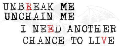 Avenged Sevenfold lyrics I want tattooed on my wrist in memory of The Rev.