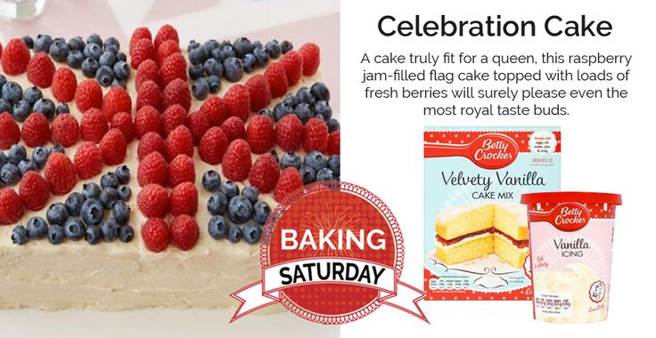 This raspberry jam-filled flag cake topped with loads of fresh berries representing the Union Jack is the perfect cake for any British themed party! <><><><> Click further to find the full ingredient list & recipe! <><><><> The perfect cake for British expats in the Netherlands!