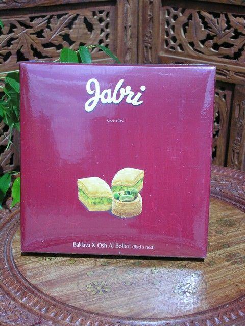 Jabri Baklava 200gm. http://www.maroque.co.uk/showitem.aspx?id=ENT06222&p=00738