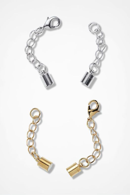 Magnetic Necklace Extenders, Metal