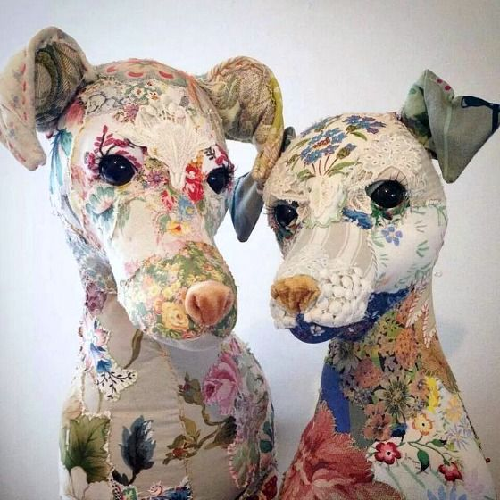 modflowers: textile menagerie by Bryony Rose Jennings