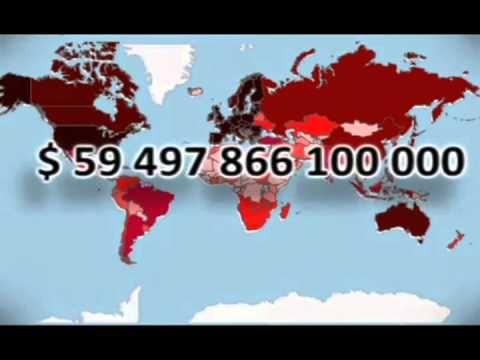 Komu dluží všechny státy světa. Кому должны все страны мира
