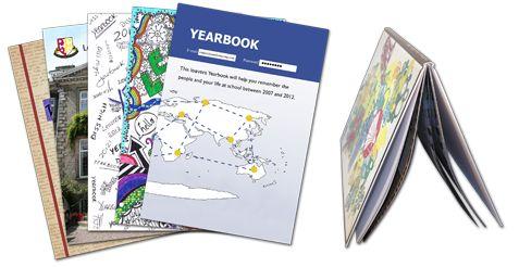 Hardback Gloss Laminated Yearbooks