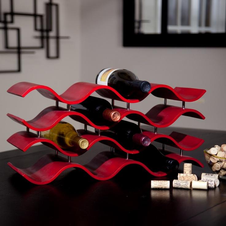 Bali 12-Bottle Wine Rack