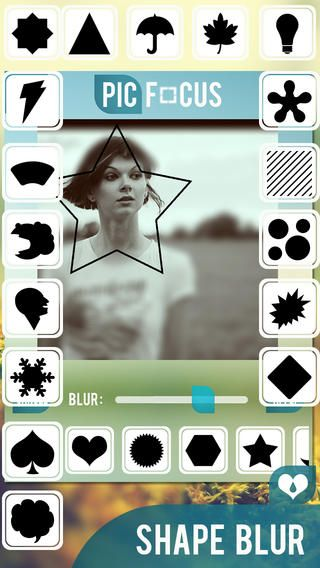 ▶ PicFocus Photo Blur App  Selective Blur modes allow you to easily concentrate attention on the key elements of your photos in this ‪#‎iPhoneApp‬