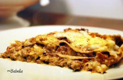 Babelia: Lasaña Dukan de Ternera con Pasta de Tofu