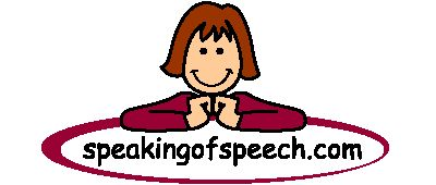 Great speech therapy material