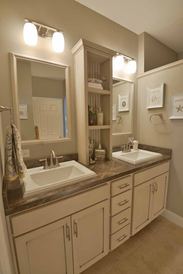 Vanity bathroom sinks - His And Her Vanity Bathroom Sinks Are A Must Have Center