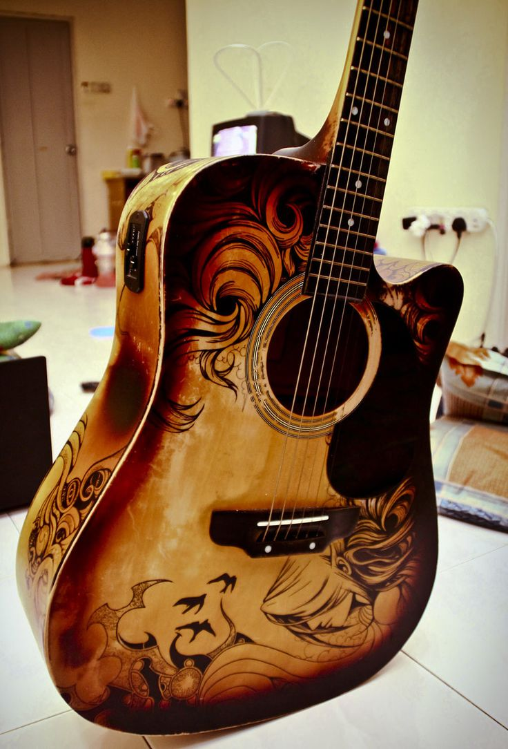 guitar_sharpie_art_4_by_zeonflux-d4d8485.jpg (900×1326)