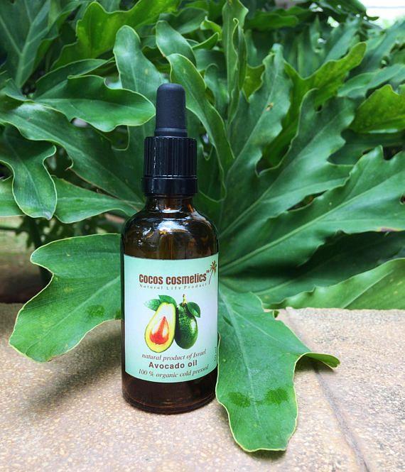 Organic Avocado Oil/ Avocado Oil For Hair/ Organic Face Oil/