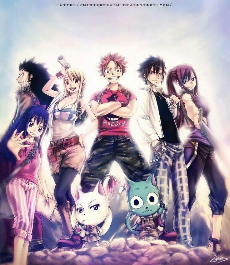 Fairy tail #anime #manga