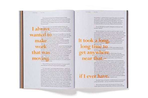 Pentagram's design for Circular 18 puts type centre stage