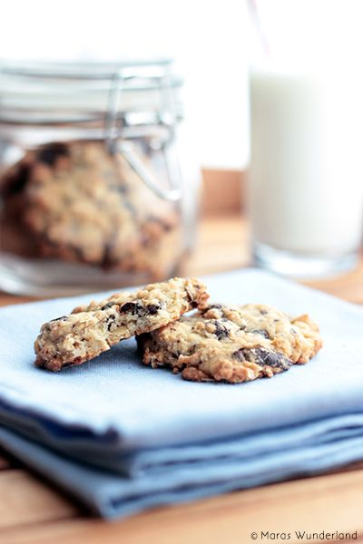 {scroll down for the English recipe} Die zweiten Cookies an diesem Wochenende! Die Schokoladencookies waren ja schon echt wahnsinnig lecker,... weiterlesen