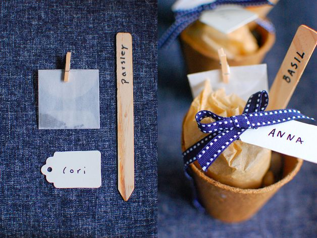 Seed kit favours
