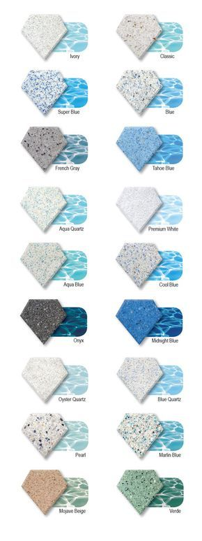 POOL Spa Fountains Finishes Diamond Brite for Pool Contractors