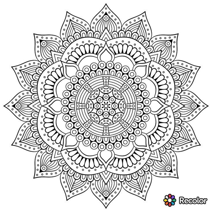 google images mandala coloring pages - photo#14