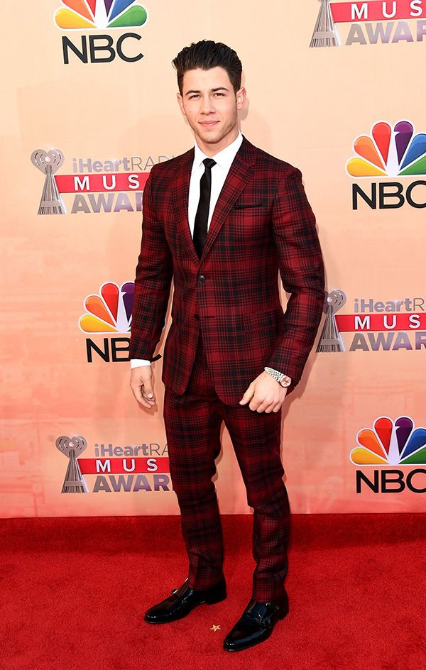 Nick Jonas in suit
