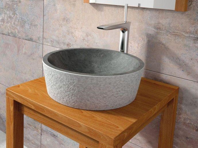 25 mejores im genes sobre lavabos de piedra stone - Lavabos de piedra rusticos ...