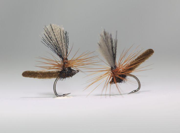 Pilligt men värt det. MicroDun på J:Son Ultimate Short Shank Dry Fly strl. 22