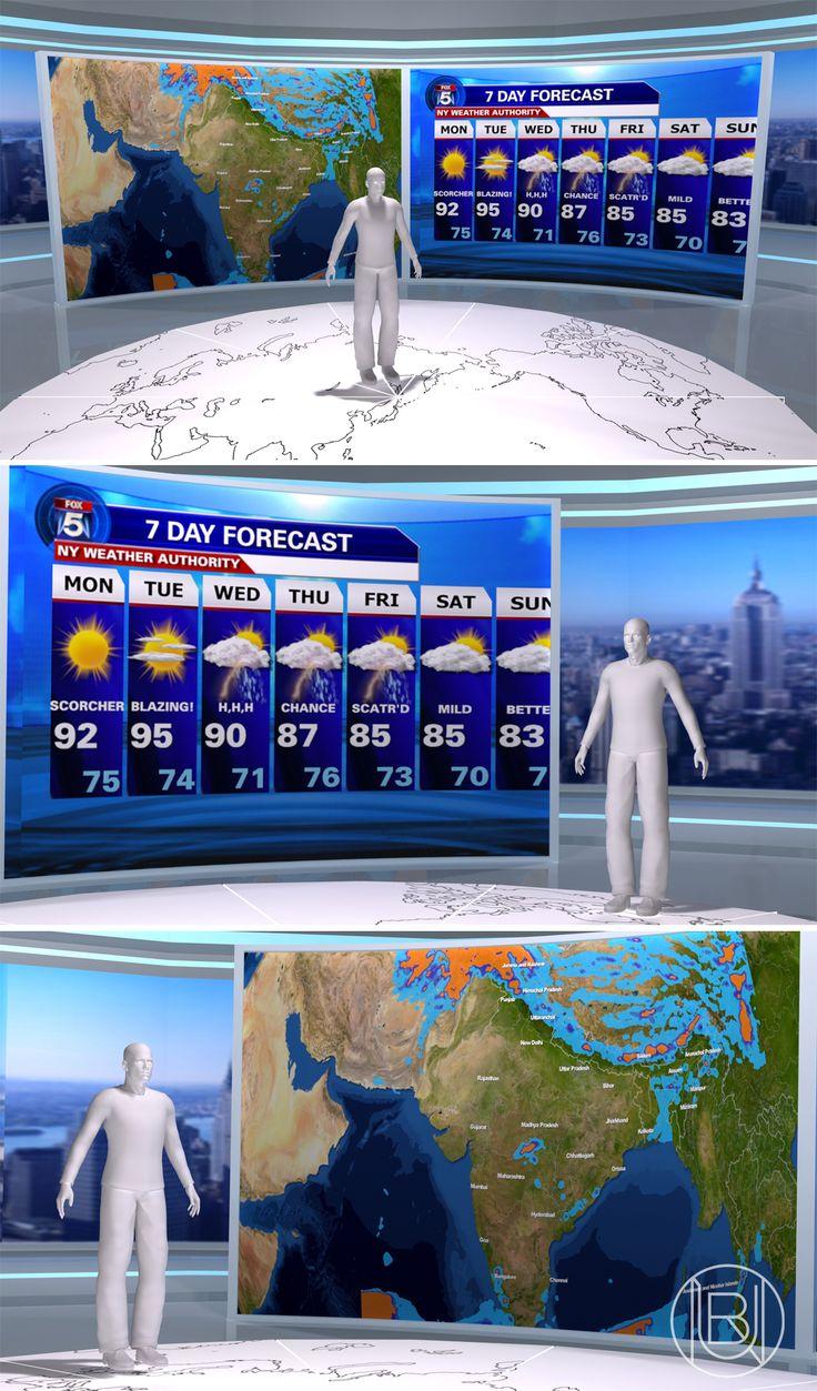 Weather - virtual studio