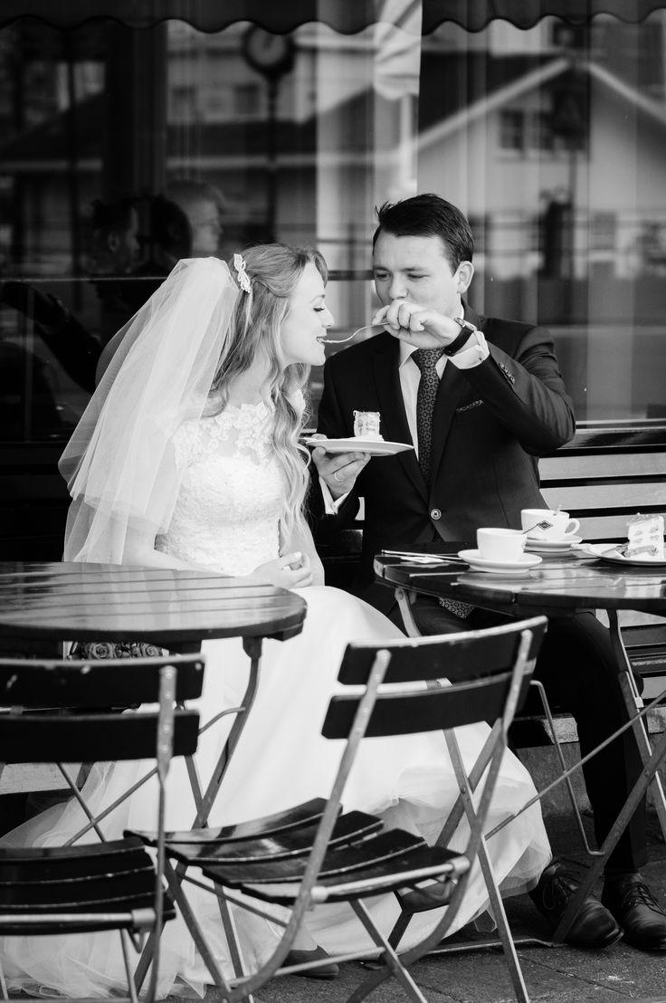 Bruidsreportage Rotterdam Veerhaven Grandcafe Loos