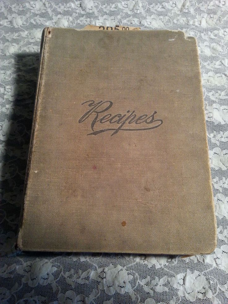 VINTAGE RECIPES COOKBOOK-HAND WRITTEN PLUS CLIPPINGS-READING PA-REISER-WILLIAMS