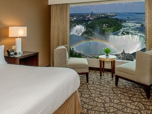 Emby Suites By Hilton Niagara Falls Fallsview King Premium View