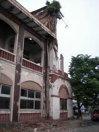 PT. Perkebunan broken-building semarang - Kota Lama, Ouderstaad, Old Town, Little Nederland, Semarang, Jawa Tengah
