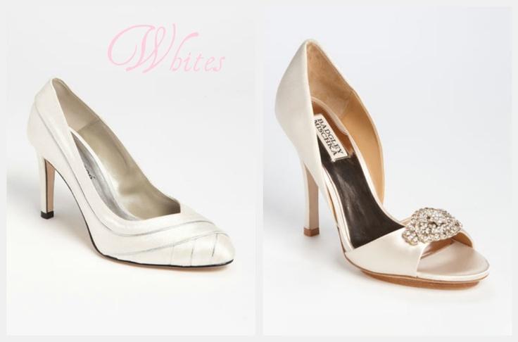 White Wedding High Heels